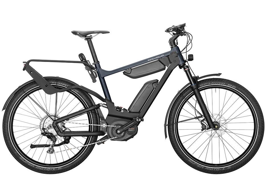 Riese & Müller Delite GT Touring / GT Touring HS 2019 - deepsae blue metallic
