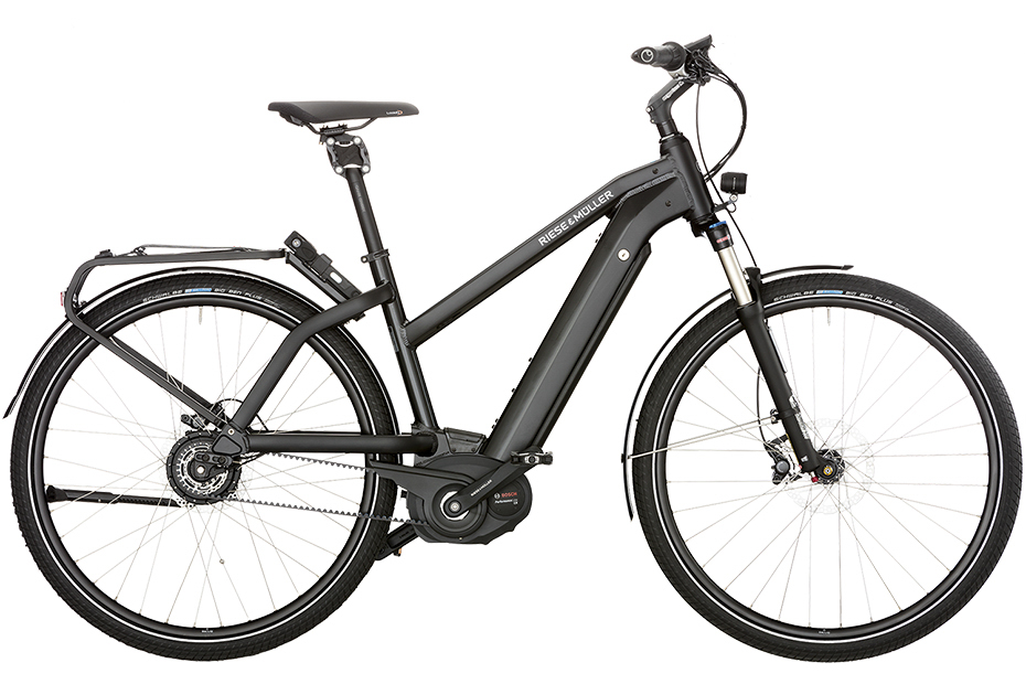 Riese & Müller New Charger Mixte Touring/New Charger Mixte Touring HS 2018 - matt schwarz