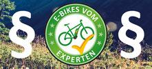e-Bike FAQ rechtliche Fragen