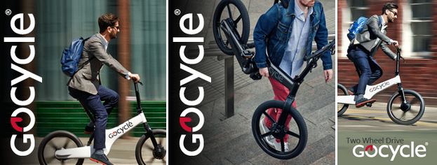 Gocycle Red Dot Designaward 2015