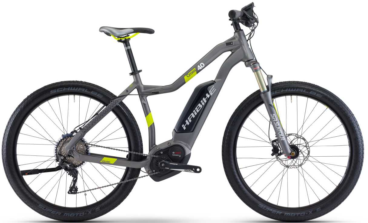 Haibike XDURO Cross 4.0 e-Mountainbike Tiefeinsteiger-Rahmen 2017