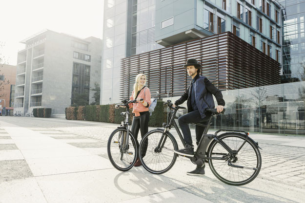 Raleigh Newgate e-Bike 2016 mit Impulse EVO