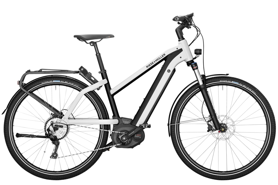 Riese & Müller Charger Mixte Touring / Touring HS 2019 - pearl white