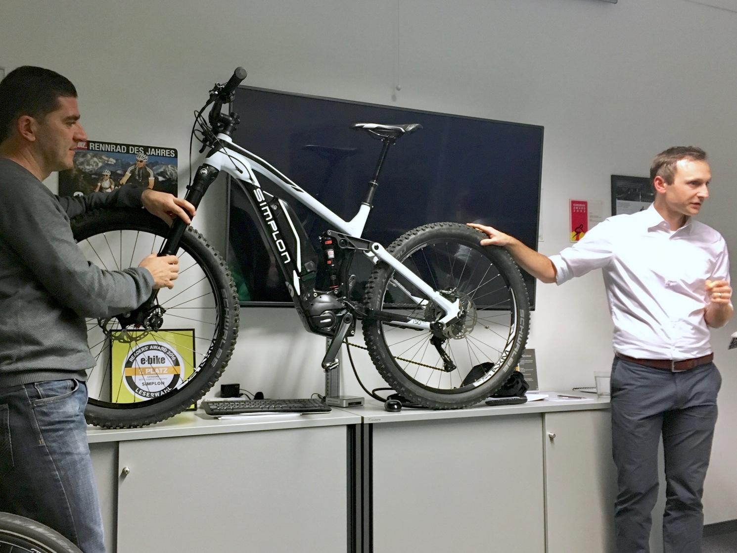 Weiterbildung bei Simplon e-Bikes