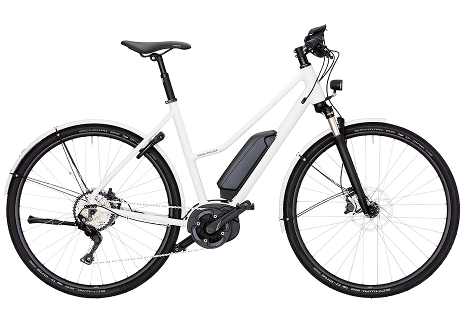Riese & Müller Roadster Mixte City - white
