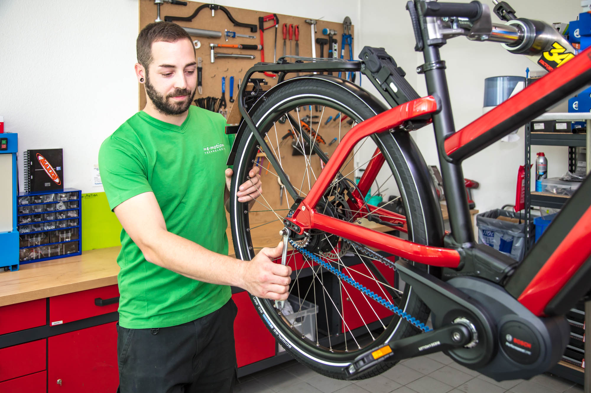 e-Bike Service in der e-motion e-Bike Olten