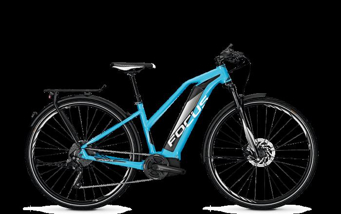 Focus Jarifa iStreet Pro Trekking e-Bike 2018