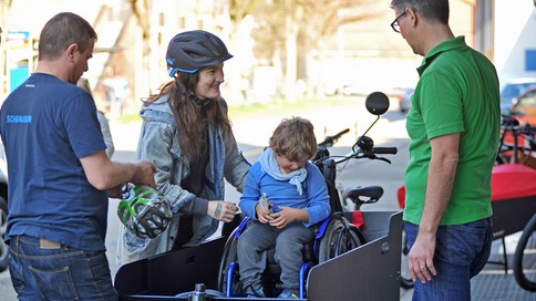 Ein e-Cargobike für Melvin - e-motion e-Bike Welt Dietikon