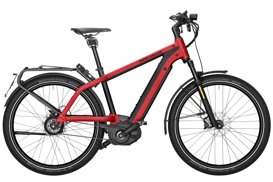 Riese & Müller Charger GT Vario HS 2019 - electric red metallic