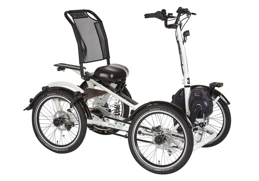 Pfiff Pfau-Tec Elektro-Vierrad für Erwachsene