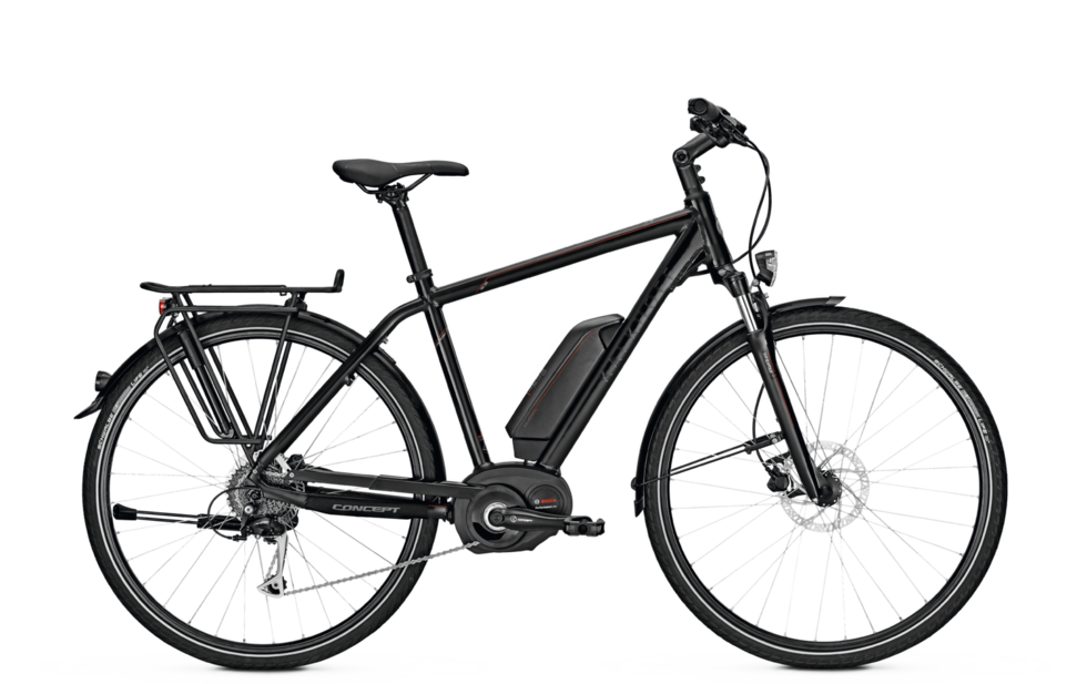 Kalkhoff Trekking e-Bike Pro Connect Bosch 9 2017 Diamantrahmen