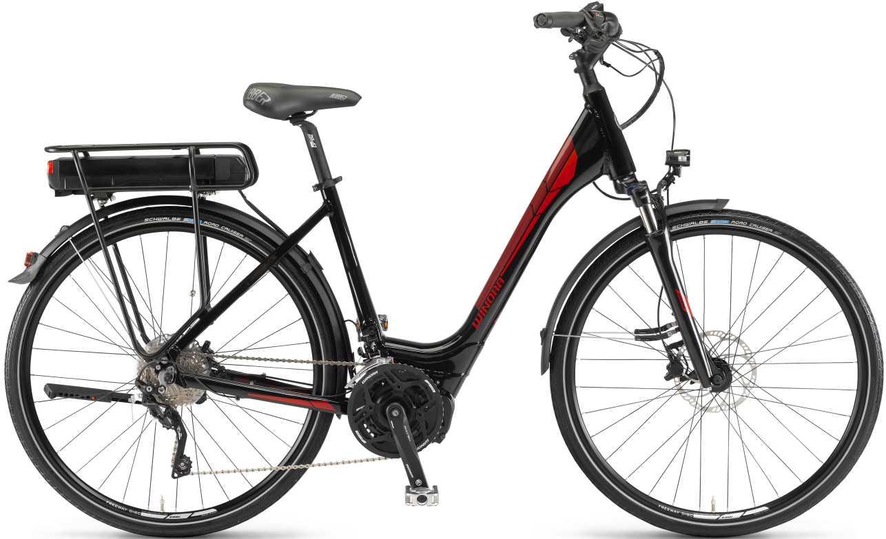 Winora Y 420.X 2017 schwarz-rot