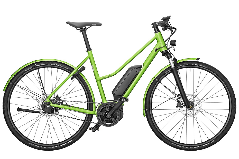 Riese & Müller Roadster Mixte urban - electric green metallic