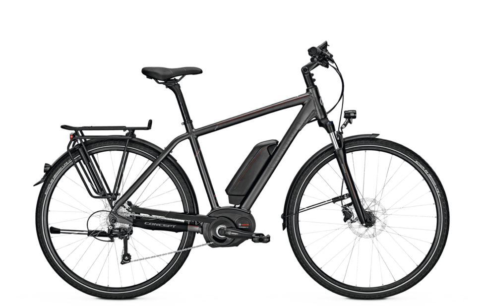 Kalkhoff Trekking e-Bike Pro Connect Bosch 10 2017 Diamantrahmen