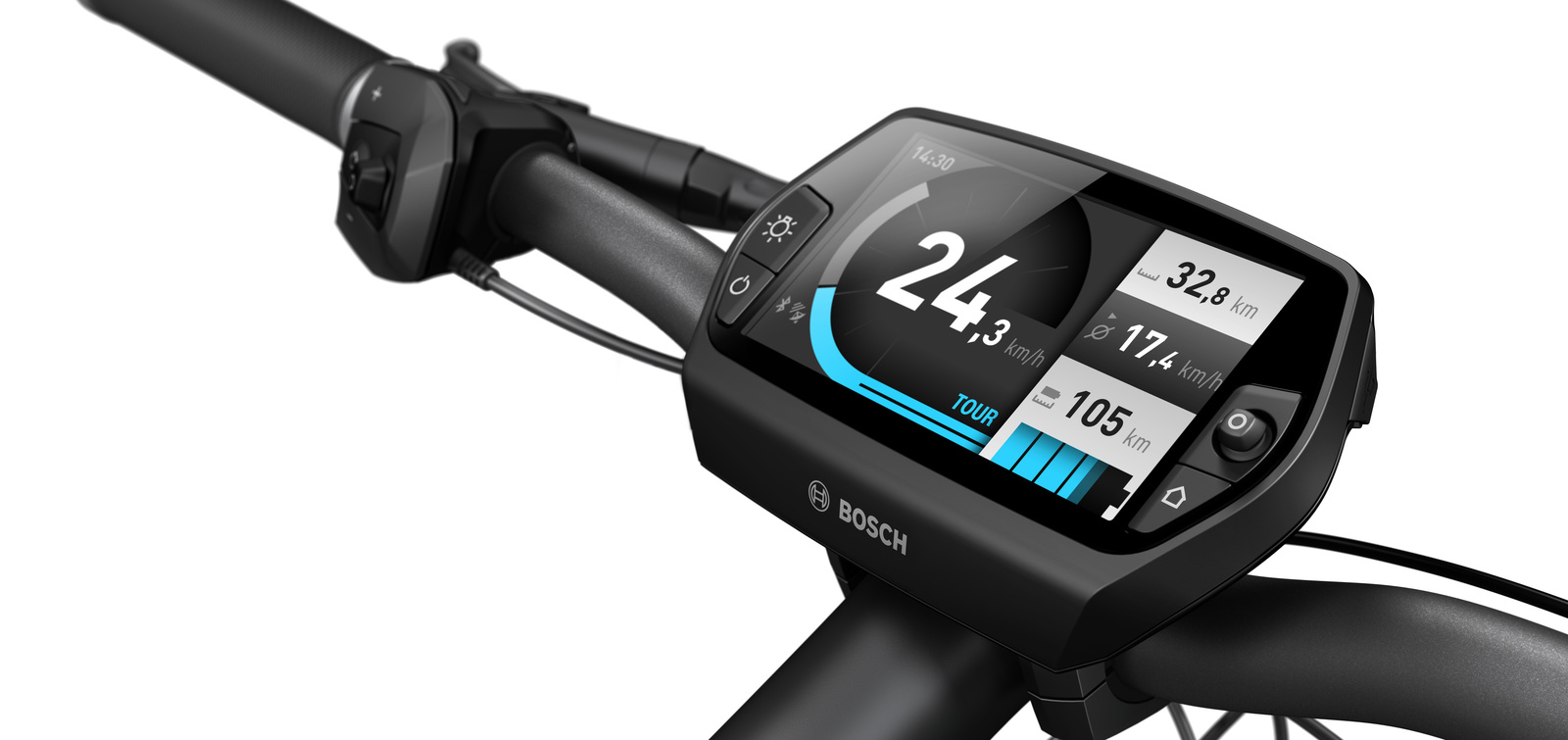 Bosch Nyon Performance Display und Navigationssystem