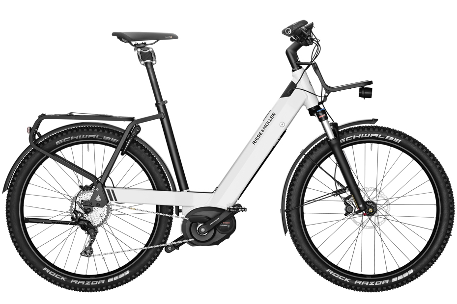 Riese & Müller Nevo GX Touring 2019 - pearl white