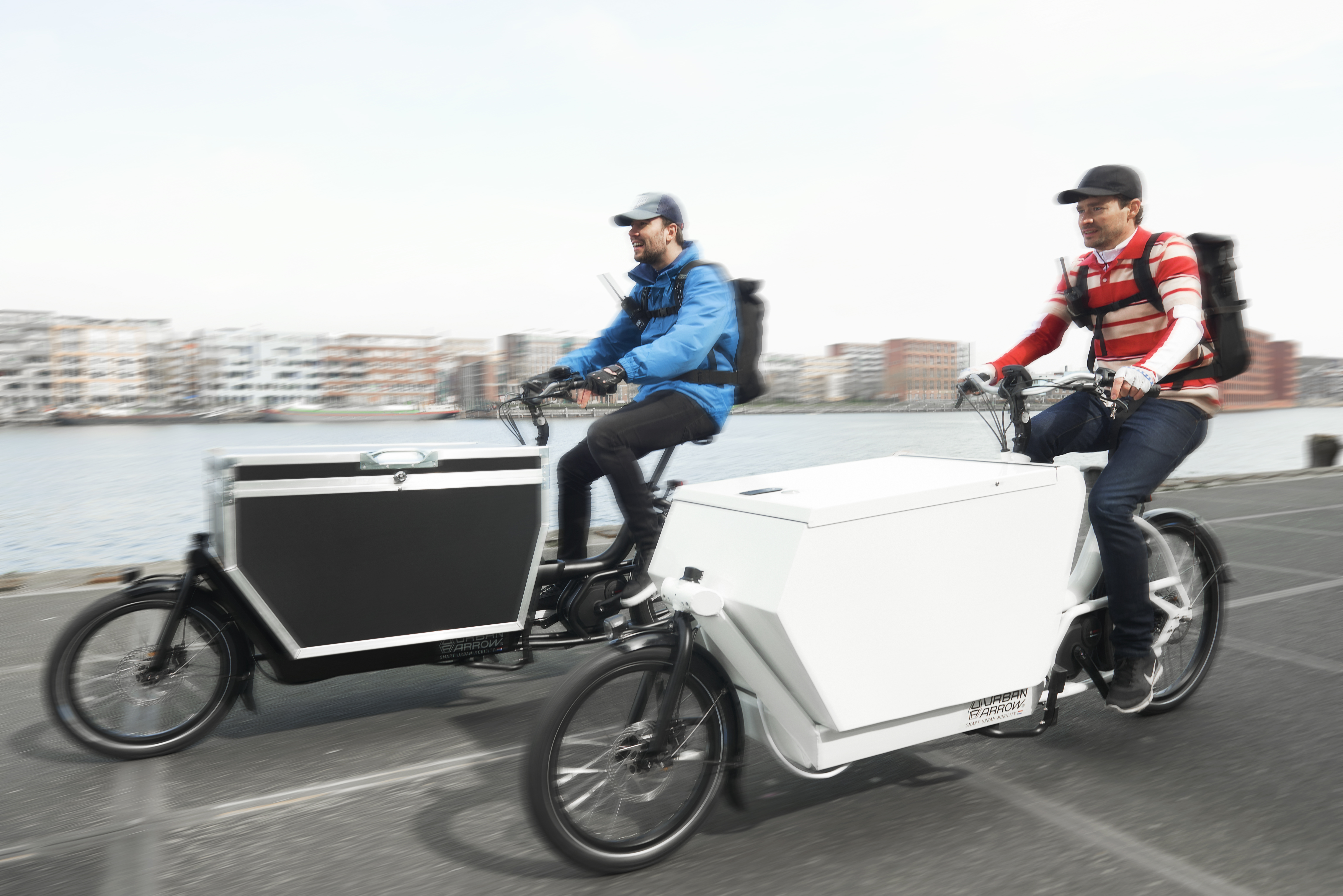 Urban Arrow Cargo e-Bikes 2016