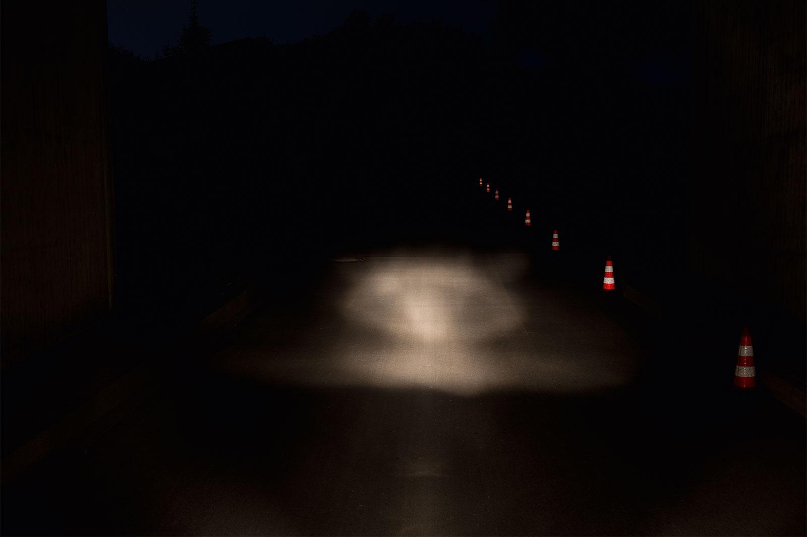 e-Bike Beleuchtung mit einer Lichtmenge von 10 LUX