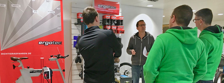 Ergo-Tec Ergonomie-Beratung in Dietikon bei Ihren e-motion e-Bike Experten