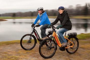 Senioren e-Bikes mit Komfort und Ergonomie