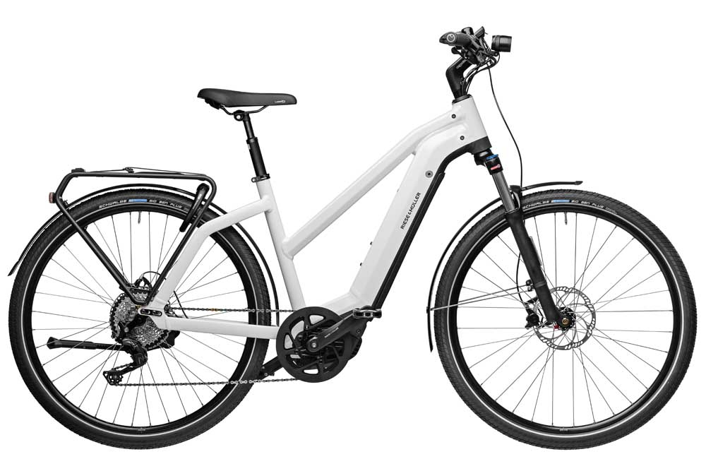 Riese & Müller Charger3 Mixte touring - ceramic  white