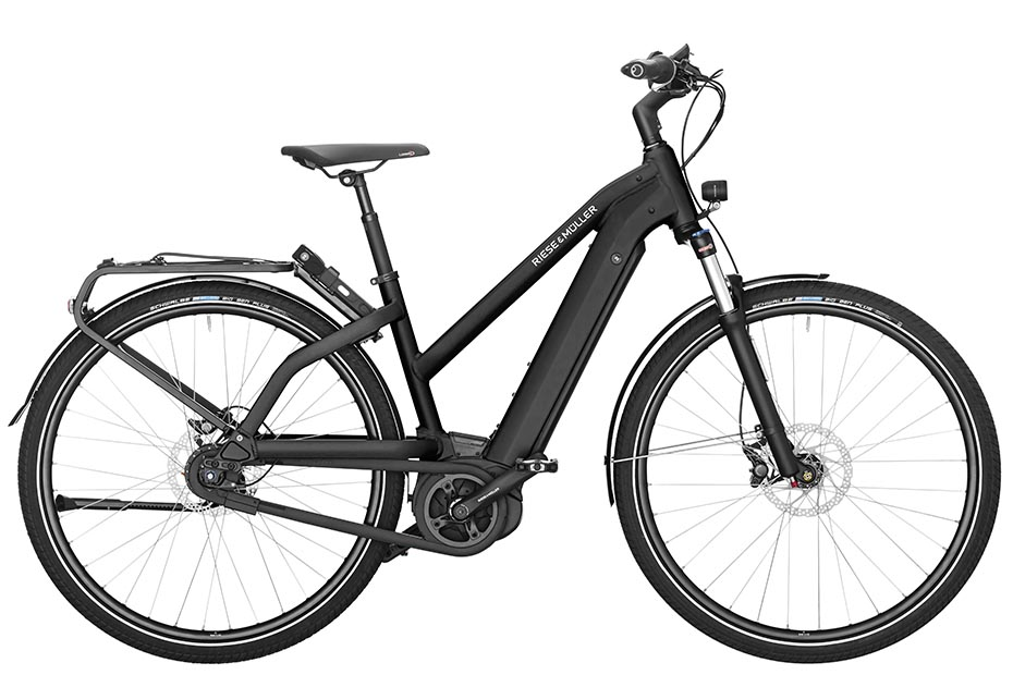 Riese & Müller Charger Mixte City 2019 - black matt
