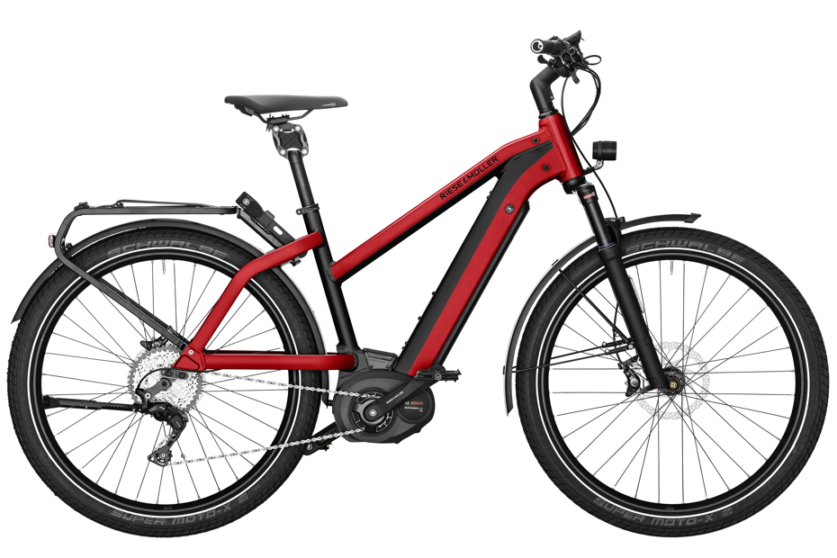 Riese & Müller Charger Mixte GT Touring / GT Touring HS 2019 - electric red metallic
