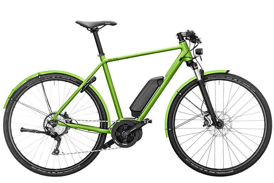 Riese & Müller Roadster touring/ Roadster touring HS - electric green metallic