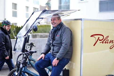 Transport- und Kuriervelos in der e-motion e-Bike Welt Dietikon