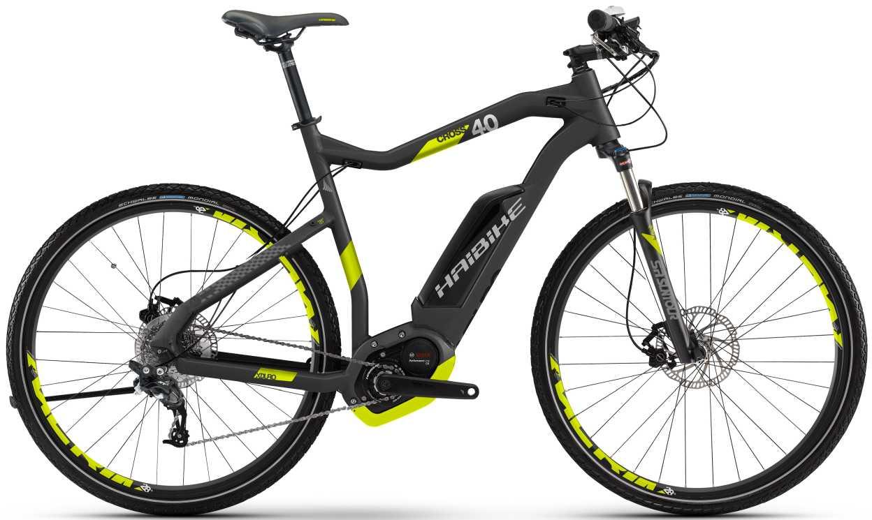 Haibike XDURO Cross 4.0 e-Mountainbike Diamantrahmen 2017