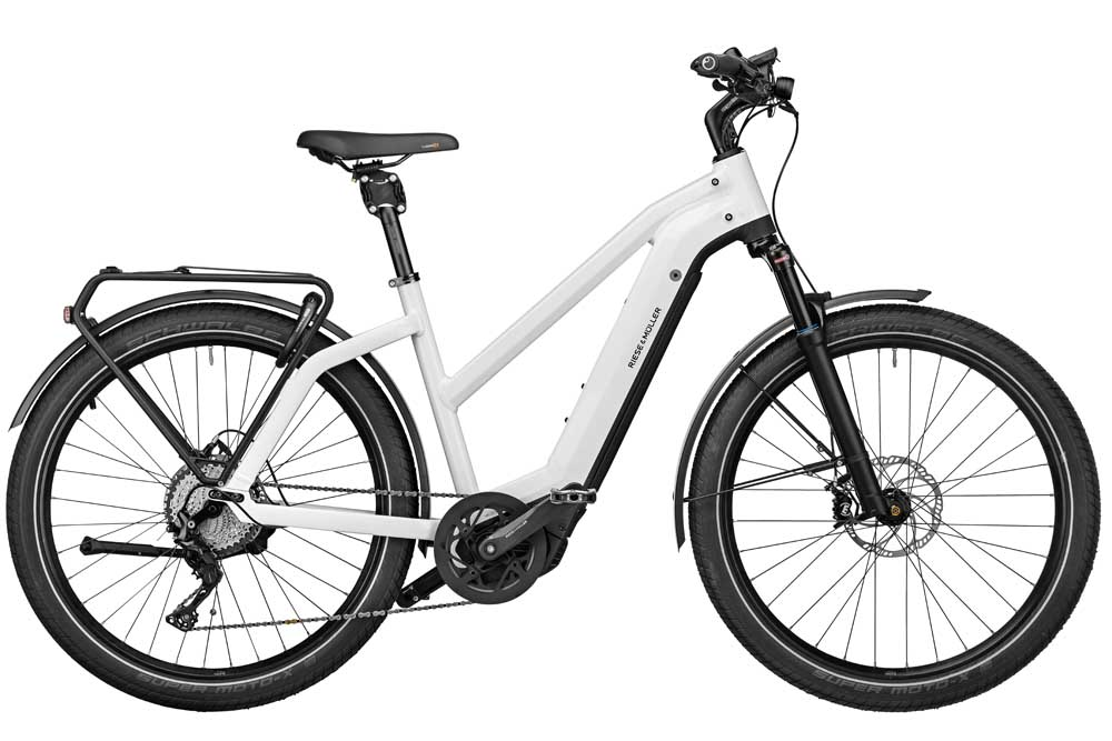 Riese & Müller Charger3 GT Mixte touring - ceramic  white