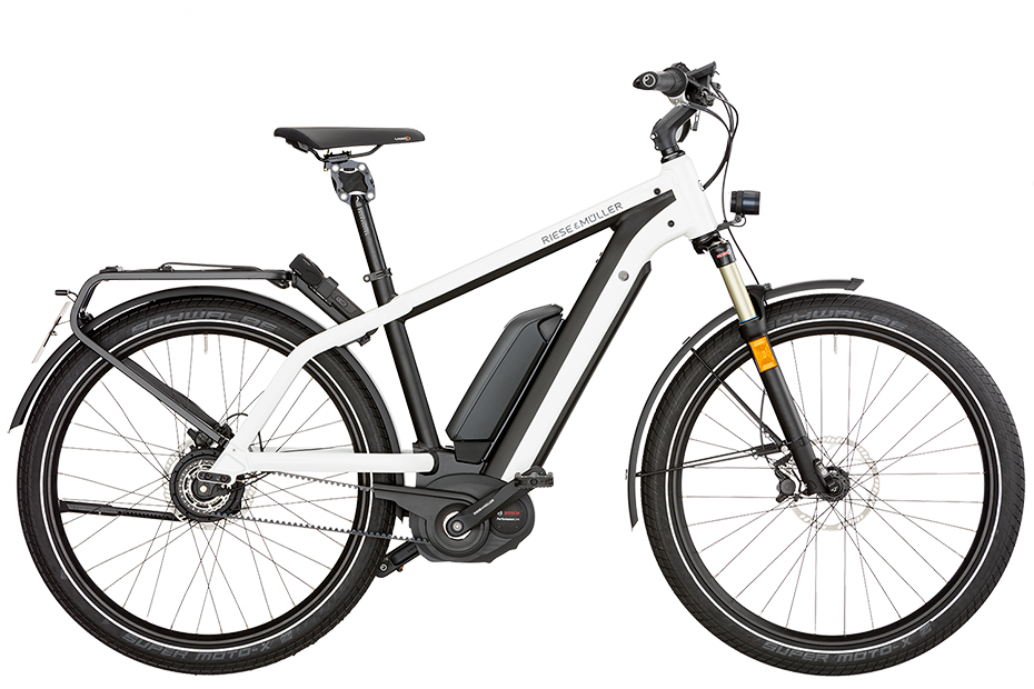 Riese & Müller New Charger GT Nuvinci HS 2018 - weiß