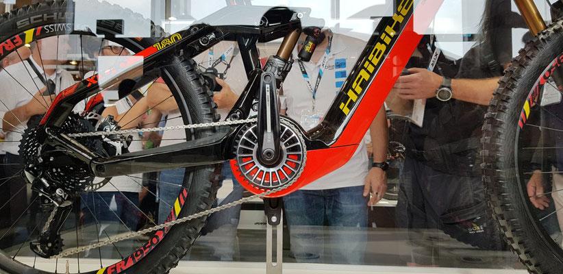 In den FLYON Bikes von Haibike wird der TQ e-Bike Antrieb verwendet
