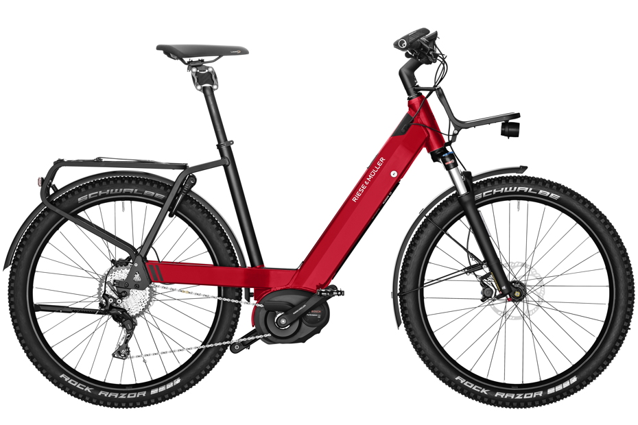 Riese & Müller Nevo GX Touring 2019 - electric red metallic