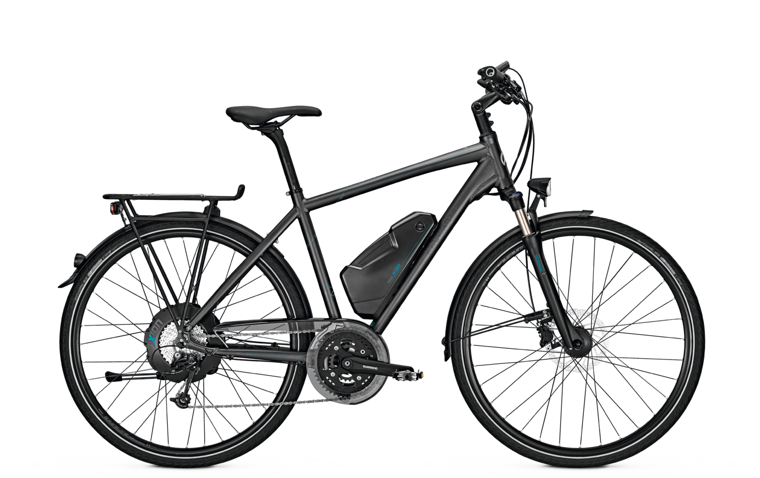 Kalkhoff Trekking e-Bike Pro Connect X27 2017 Diamantrahmen