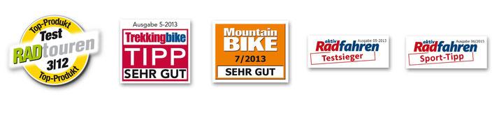 SQlab ergonomische e-Bike Fahrradgriffe Testsieger, Produkttest und Qualitätssiegel