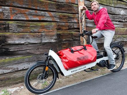 e-CargobikeExpo in der Umweltarena Spreitenbach für Privat und Unternehmen
