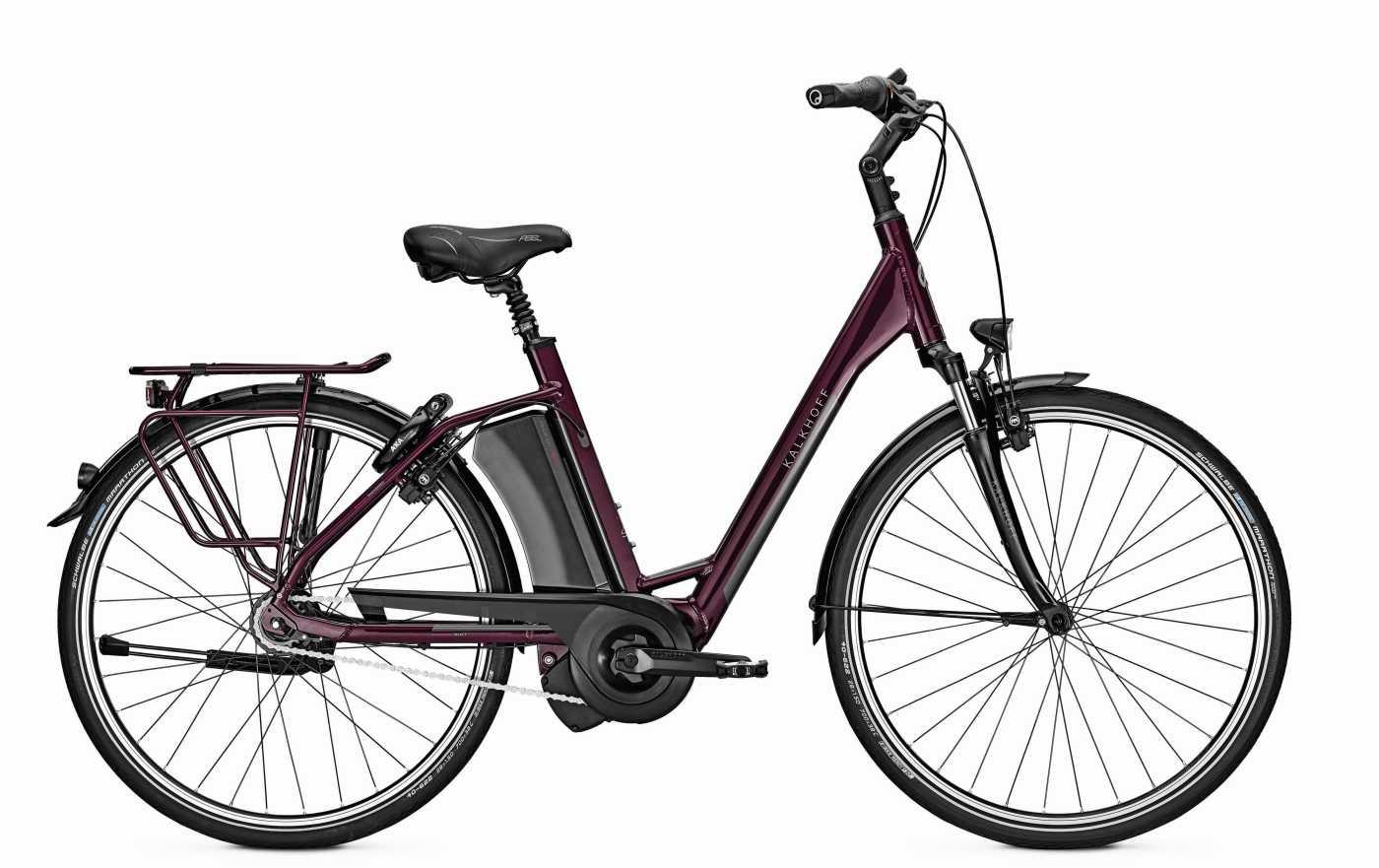 Kalkhoff Select Shimano 8 2017 Tiefeinsteiger violett