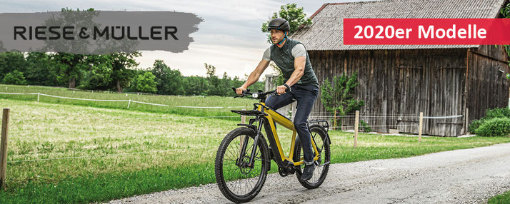 Riese & Müller - e-Bikes 2020 City e-Bikes / Trekking e-Bikes / Compact e-Bikes / Cargo e-Bikes / Speed Pedelecs