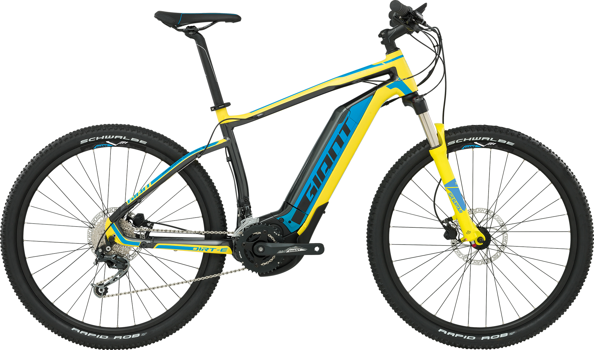 e-Bike Diamantrahmen Giant Dirt E+ 2