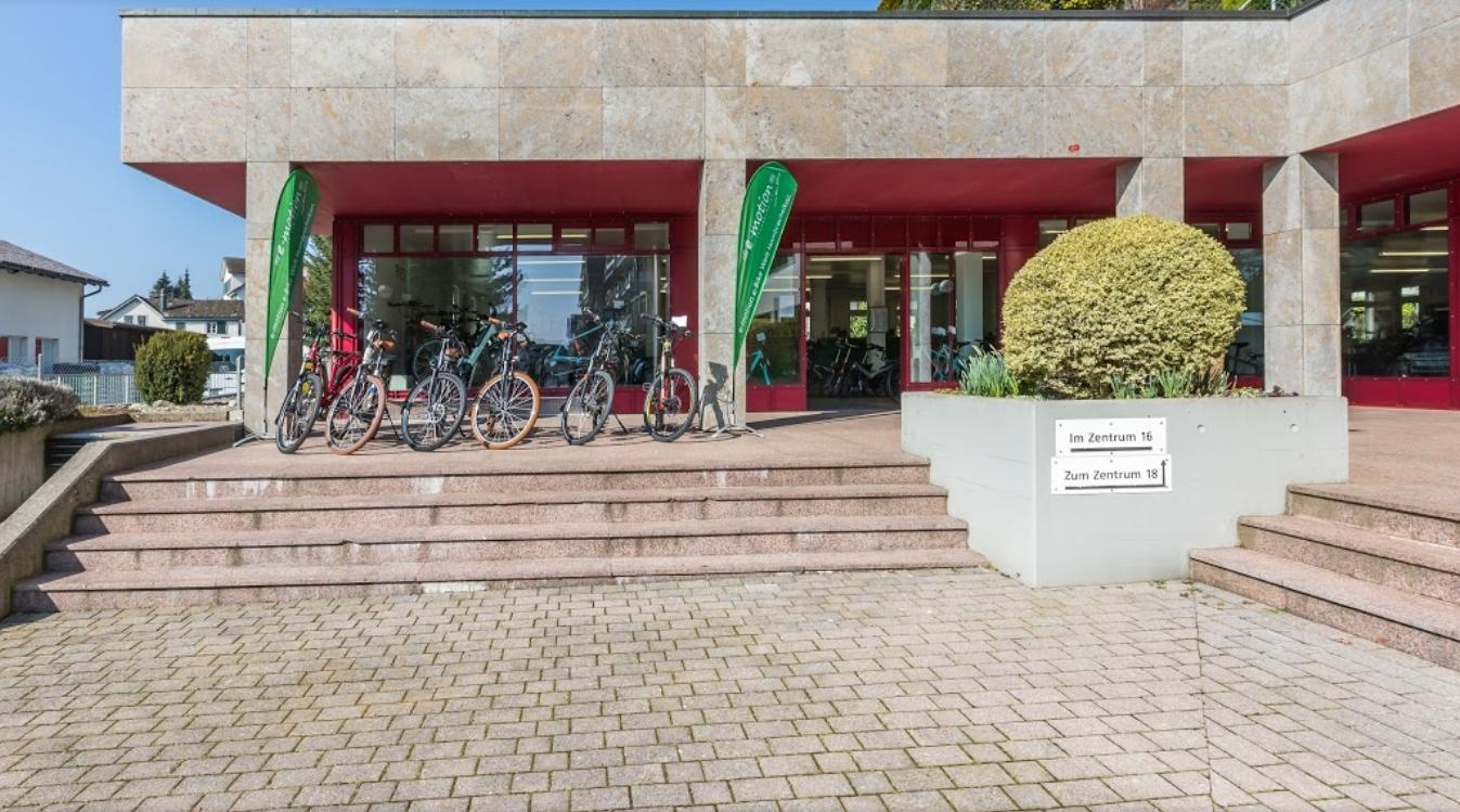 Machen sie eine e-Bike Probefahrt in unserer e-Bike Welt in Hombrechtikon