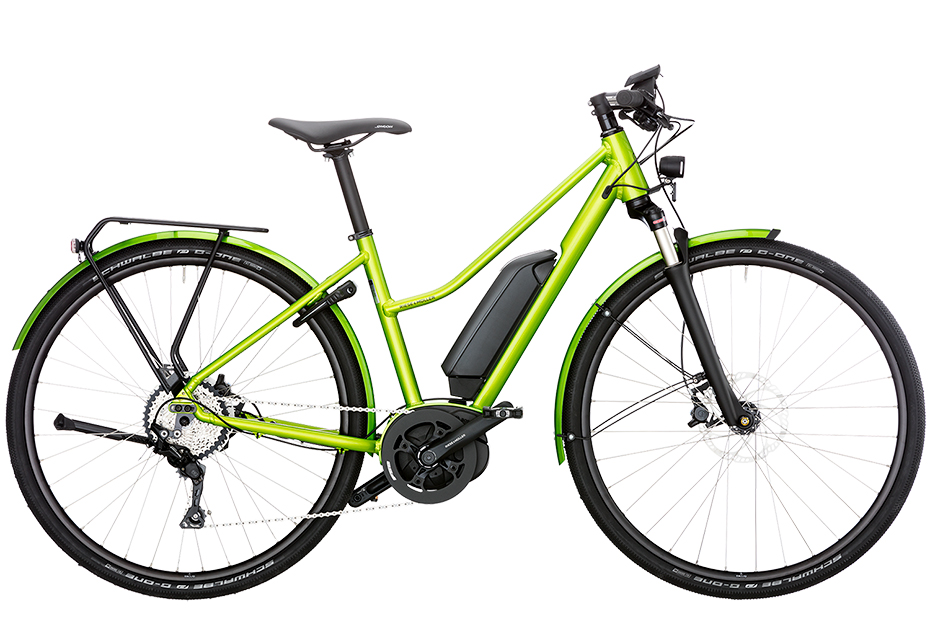 Riese & Müller Roadster Mixte City - electric green