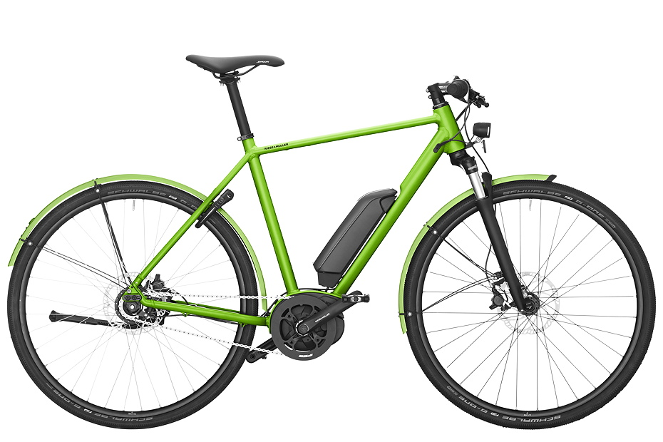 Riese & Müller Roadster City - electric green metallic