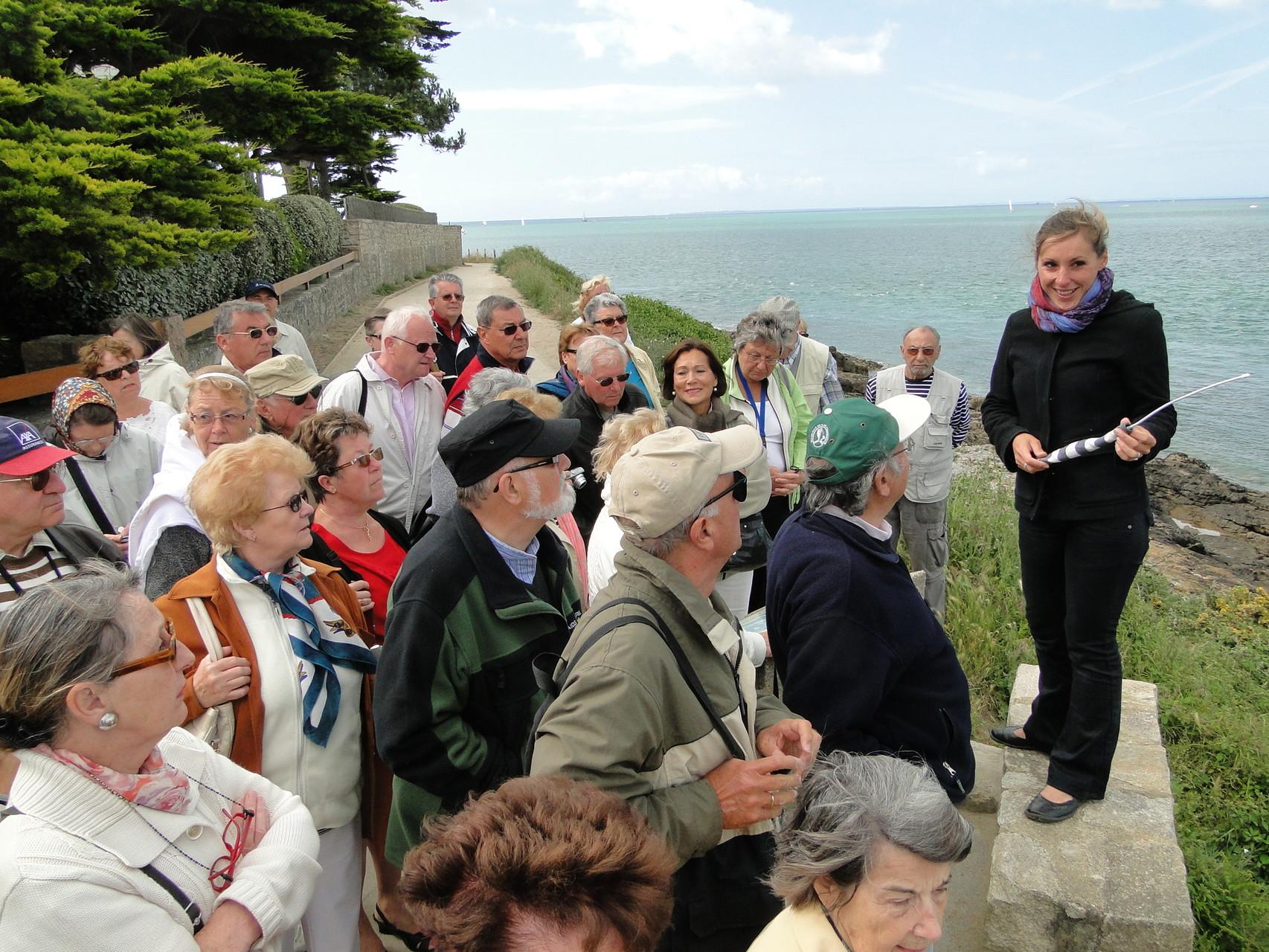 Visite guidée Golfe du Morbihan