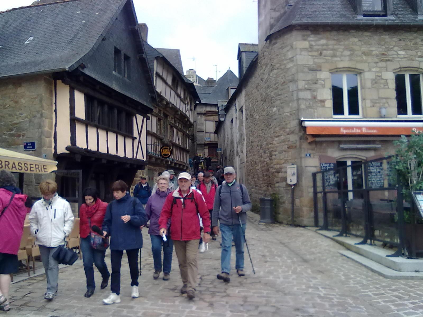 Randonnée visite de Saint Goustan