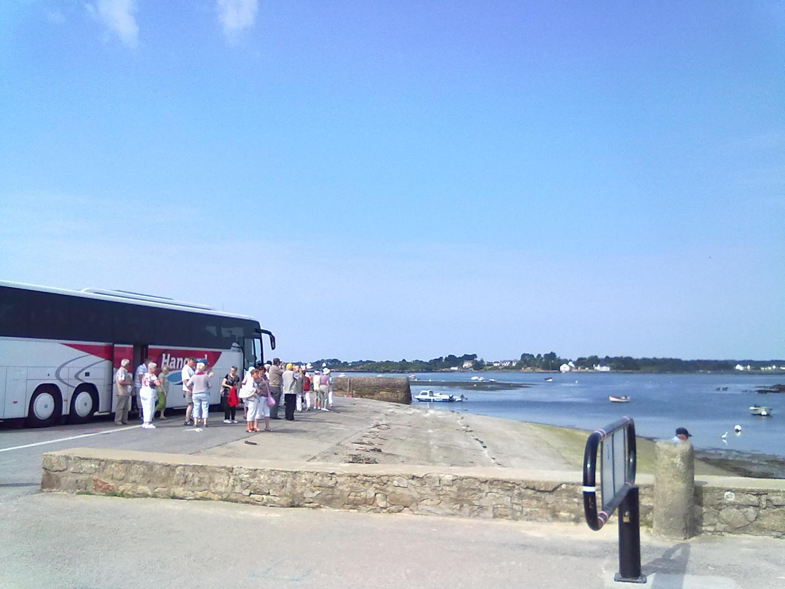 Visite guidée Saint Cado, rivière d'Etel