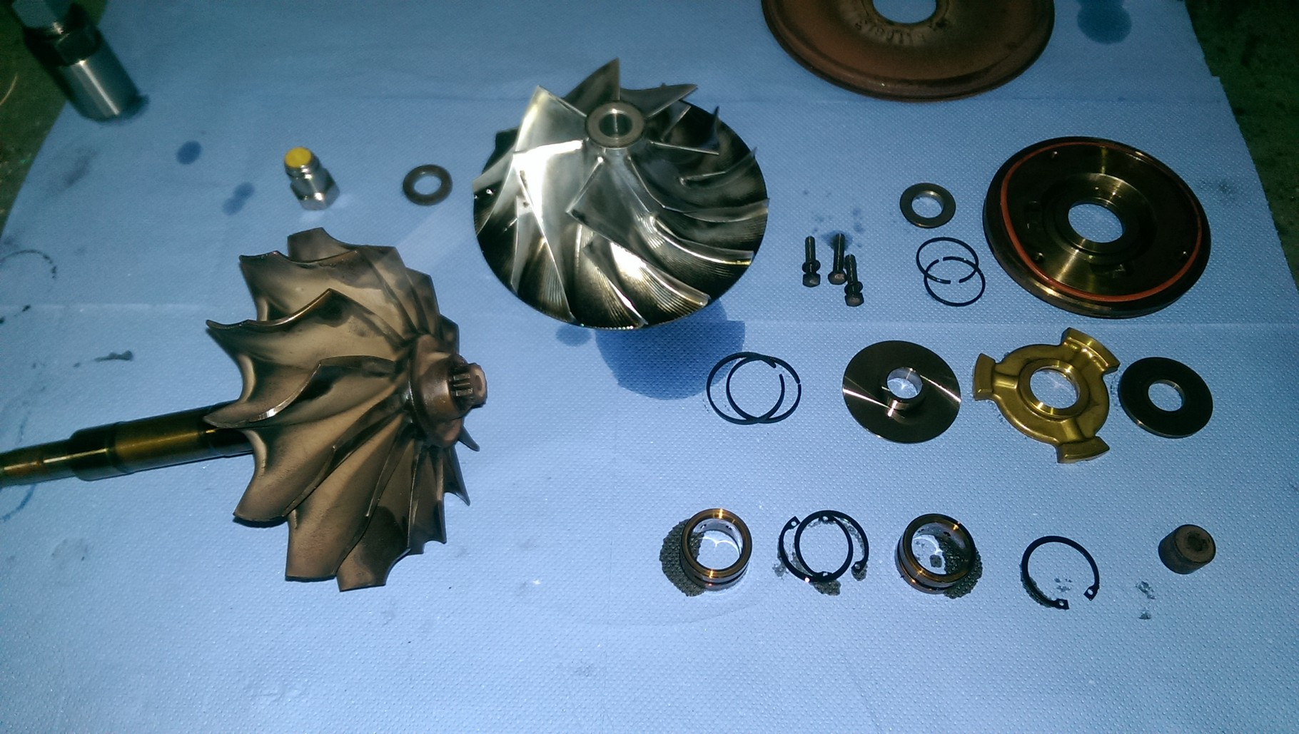 Overhaul of turbo-charger
