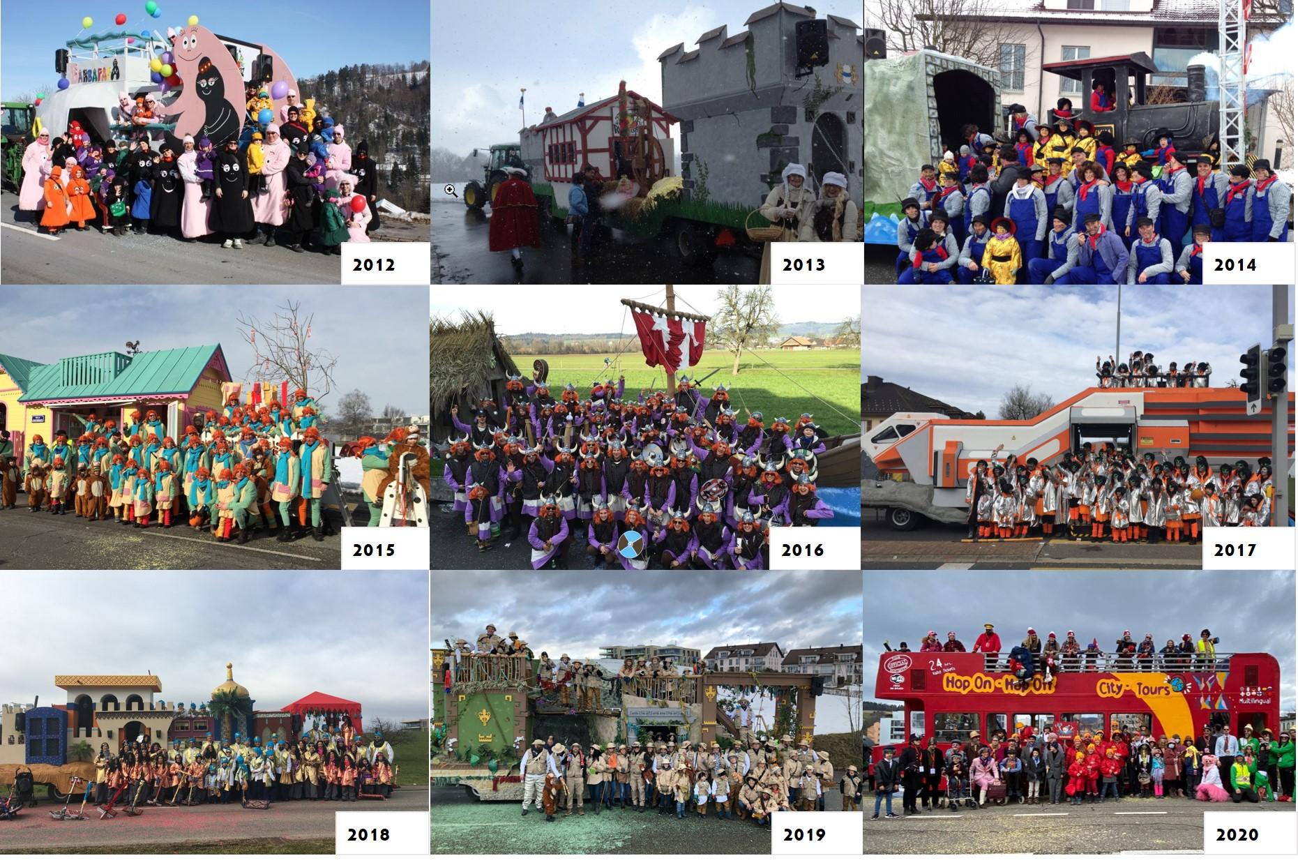 10 Jahre Wagenbaugruppe Rumpelstilz Baar