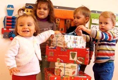 Die Kleinen beteiligen sich an der Malteseraktion Hoffnungszeichen 2013