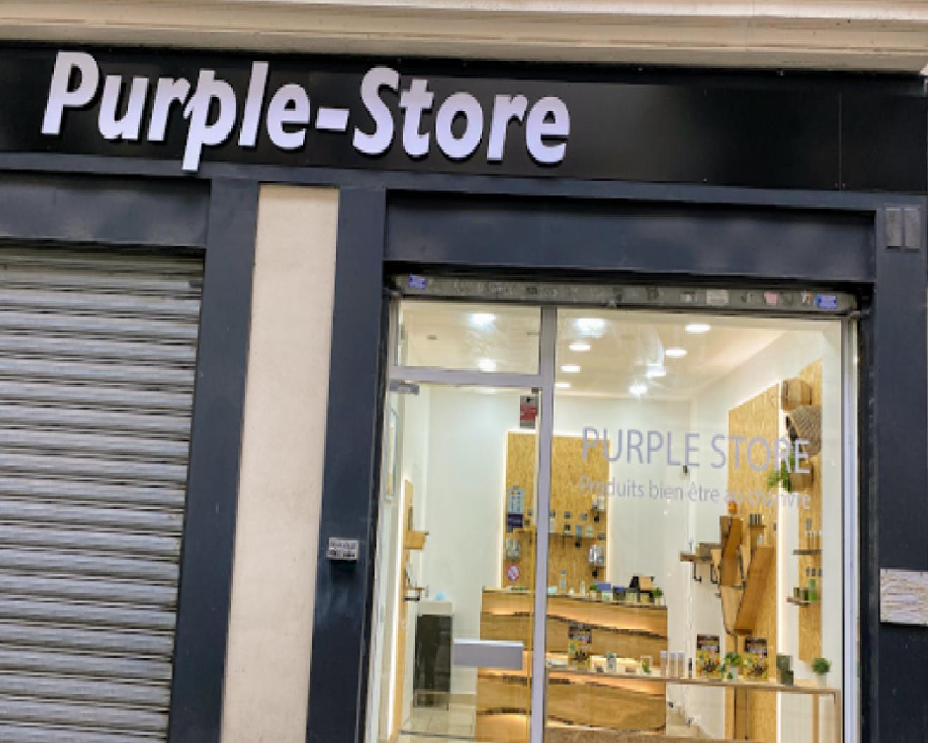 Purple Store Bastille